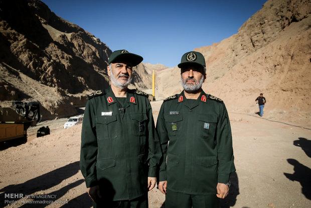 موشکهای بالستیک ایران موشک قدر قدرت نظامی سپاه قدرت نظامی ایران شهر موشکی