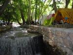 تکمیل ظرفیت پارک آبشار یاسوج/  اسکان مسافران در ۴بوستان دیگر