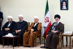 İnkılap Rehberi, Uzmanlar Meclisi üyeleri ile görüştü/ Foto