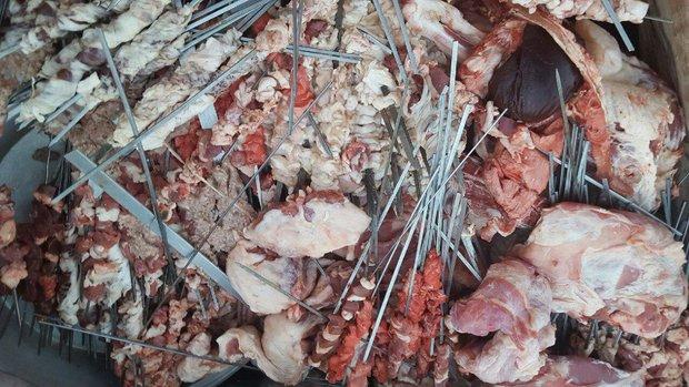 معدوم سازی ۱.۵ تن خوراک دام آلوده در شهرستان هرسین