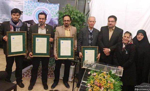 تقدیر از برگزیدگان یازدهمین جایزه زیست محیطی تقی ابتکار