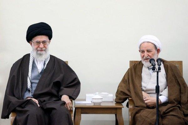دیدار رهبر انقلاب و اعضای مجلس خبرگان