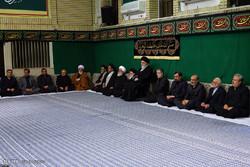 الليلة الثانية من مراسم العزاء باستشهاد السيدة فاطمة الزهراء (ع) بحضور قائد الثورة الاسلامية