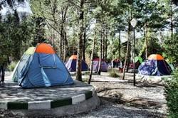 ۱۰ درصد از مسافران نوروزی اردبیل در چادرهای مسافرتی اقامت کردند