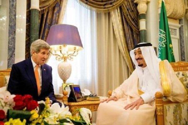 امریکی وزیر خارجہ کی سعودی عرب کے بادشاہ سے ملاقات
