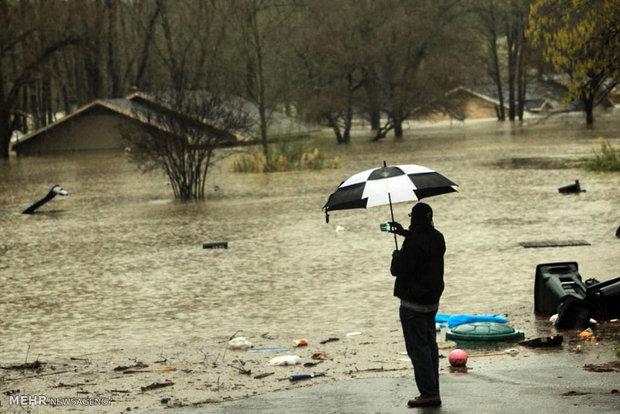 وقوع طوفان در آمریکا