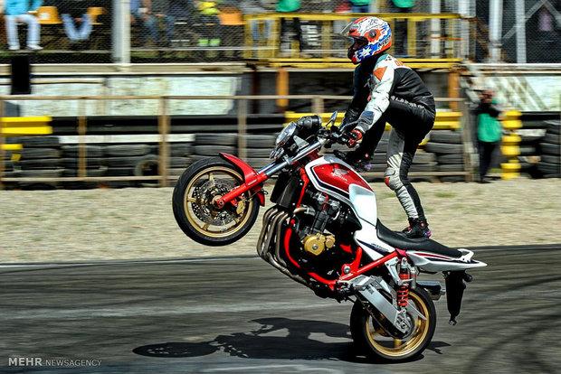آخرین دوره مسابقات کشوری موتور سواری ریس