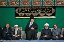 الليلة الثالثة من مراسم العزاء باستشهاد السيدة فاطمة الزهراء (ع) بحضور قائد الثورة الاسلامية