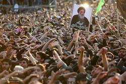 Gathering of Fatemi mourners
