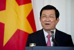 Vietnam Cumhurbaşkanı Tahran'da