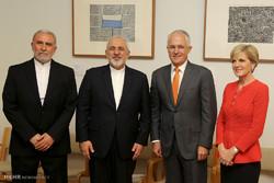 Zarif'in Yeni Zelanda ve Avustralya ziyareti