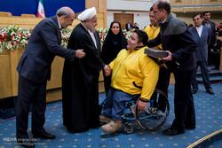 Rouhani commemorates Iranian champions, medalists