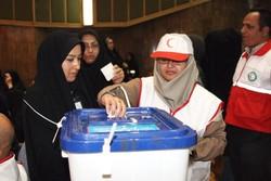 پنجمین دوره انتخابات مجامع هلال احمر در دشتی برگزار شد
