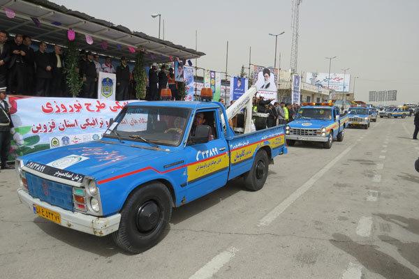 905 ماموریت امداد خودرو در نوروز در استان قزوین انجام شد