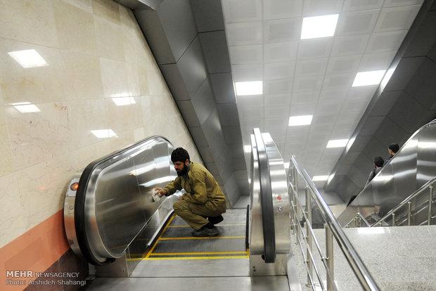 افتتاح ایستگاه مترو فرودگاه مهرآباد
