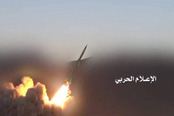 إطلاق صاروخ باليستي من نوع قاهر-1 على مطار أبها الإقليمي جنوب غرب السعودية