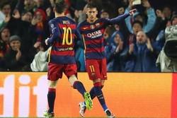 بارسلونا بار دیگر آرسنال را برد/ MSN به توپچیها هم رحم نکرد