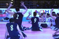 تیم والیبال نشسته ایران