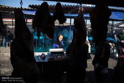 بازار محلی شهرستان جویبار در آخرین روز سال