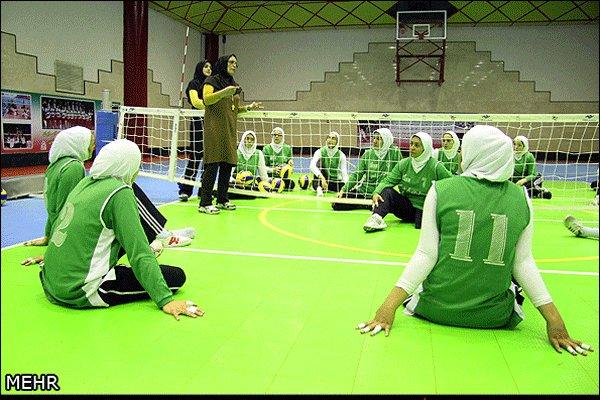 تیم ملی والیبال نشسته بانوان ایران پنجم شد