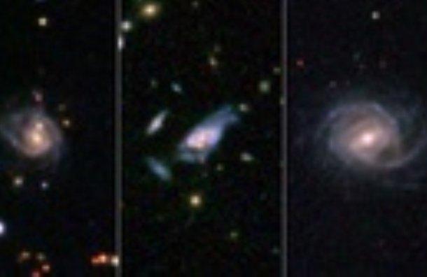 کشف کلاس جدیدی از کهکشان های مارپیچ