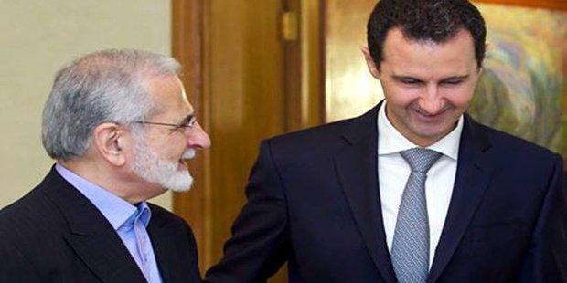 کمال خرازی کی بشار اسد سے ملاقات
