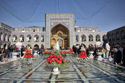Nowruz celebration in Mashhad