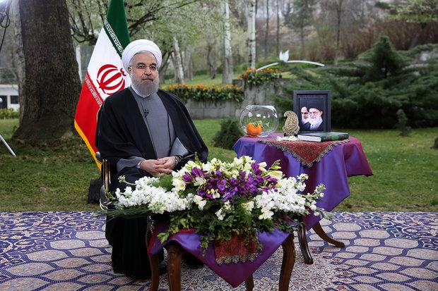 روحاني : يجب بناء ايران بشكل يليق بالشعب الايراني