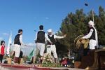 اجرای موسیقی سنتی در سرایان؛ مسافران نوروزی به وجد آمدند