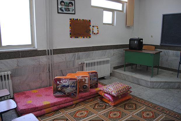 اسکان بیش از ۱۰۸ هزار نفر روز در مدارس و مراکز فرهنگی گلستان