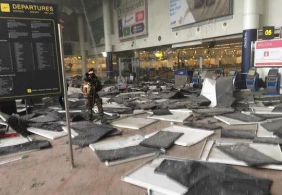 قتلى وجرحى في هجمات على مترو ومطار بروكسل