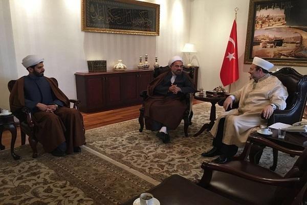 گزارش سفر ریاست بنیاد بین المللی علوم وحیانی اسراء به کشور ترکیه
