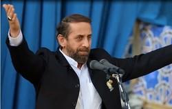 مدیحه سرایی احمد واعظی در حرم رضوی/ ۲۵ سال دگر نیست جایی به نام اسرائیل