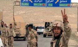 الجيش السوري يدخل مدينة تدمر ويطارد الارهابيين