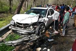 کراپشده - تصادف جاده ای
