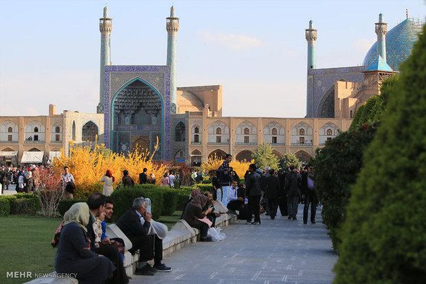 استقبال کم مسافران نوروزی از اصفهان