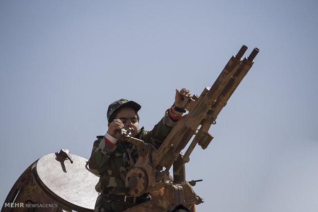 تانک های سوخته در مناطق عمیلیاتی هشت سال دفاع مقدس