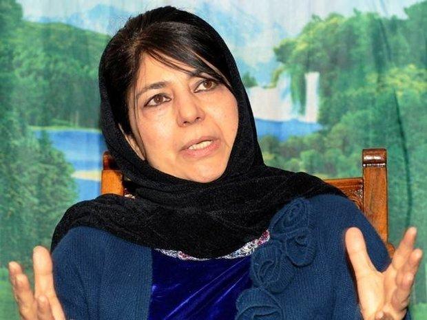 کشمیر کی وزیر اعلی کا کشمیریوں کی ہلاکت پر افسوس کا اظہار