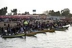مسافران نوروزی در سواحل دریای خزر