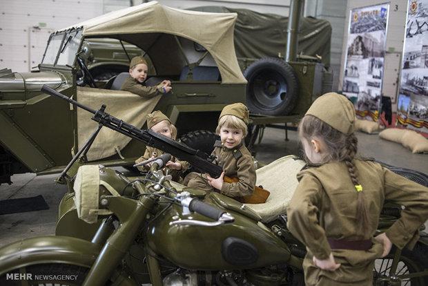 مجوعه عکس های منحصر به فرد از وسایل نقلیه جنگ جهانی دوم