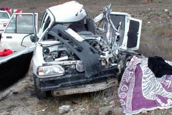 واژگونی خودرو پراید در اتوبان پیامبر اعظم ۴ مصدوم به جا گذاشت