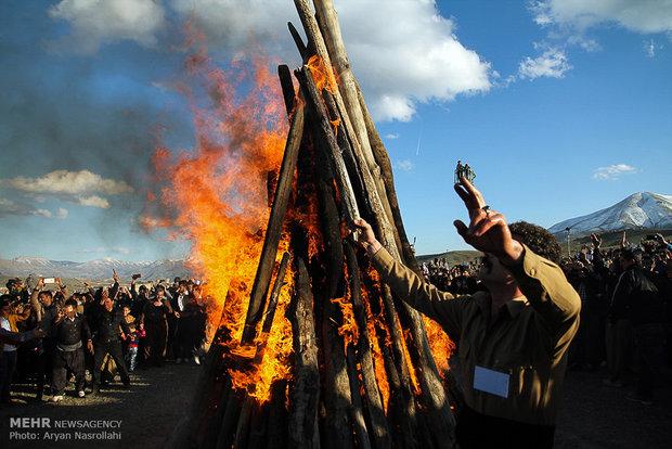 مراسم نوروز در سنندج