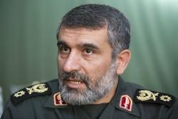 "العميد حاجي زاده :طهران ستختبر قريباً صاروخاً بالستياً يدعى ""دزفول"""