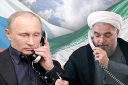صدر روحانی اور صدر پوتین کی ٹیلیفون پر گفتگو/ ادلب کی صورتحال پر تشویش