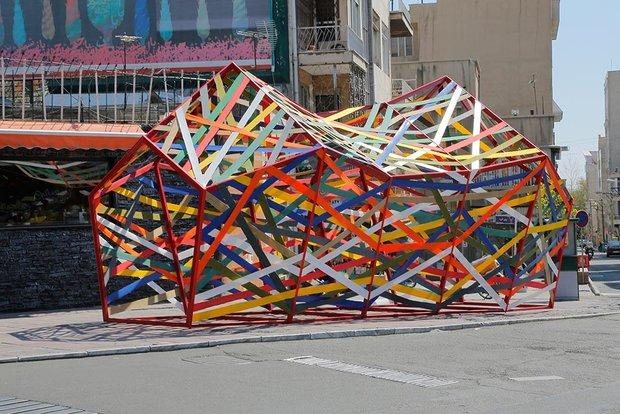 فنون شوارع طهران في عيد النيروز