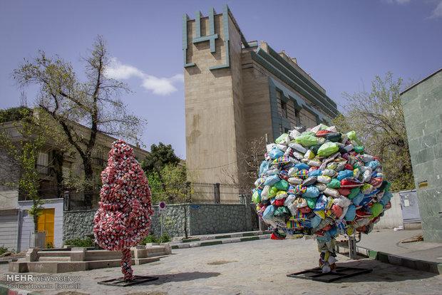 سازه های تجسمی نوروزی در سطح شهر تهران