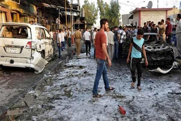 بغداد میں خودکش حملے میں 25 افراد شہید و زخمی