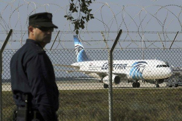 اختطاف طائرة مصرية