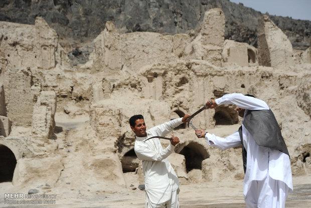 آئین رقص شمشیر سنتی سیستان  در نوروز