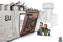 Göçmenler/ Karikatür